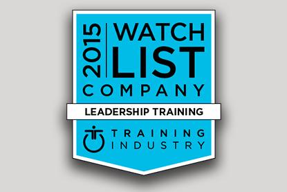 Training Industry S 2015 Leadership Training Companies Watch List