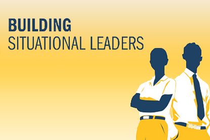 Building Situational Leaders infographic cover