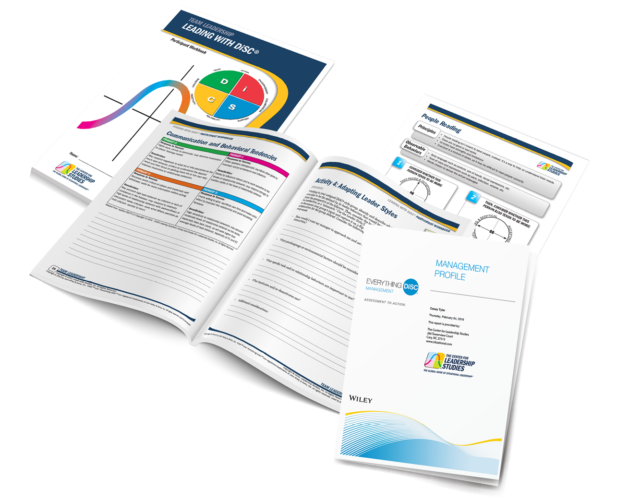 Leading with DiSC® course components
