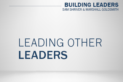 2018 November-December TI Magazine Column: Leading Other Leaders