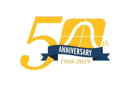 CLS 50th Anniversary logo